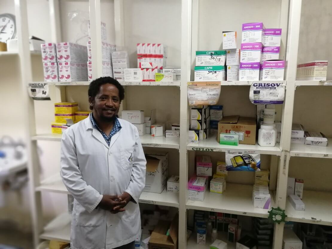 Melaku Tilahun, Pharmacist at the Addis Ababa Fistula Hospital