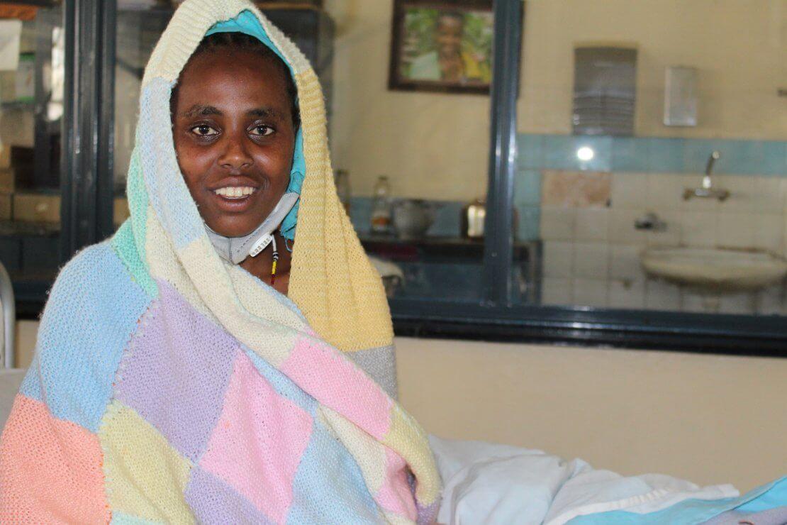 Sebryi, a patient at Hamlin Fistula Ethiopia