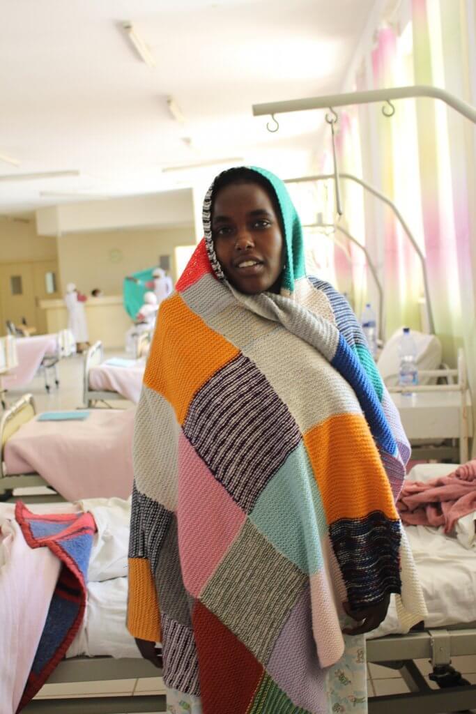 Fatuma at Harar Hospital