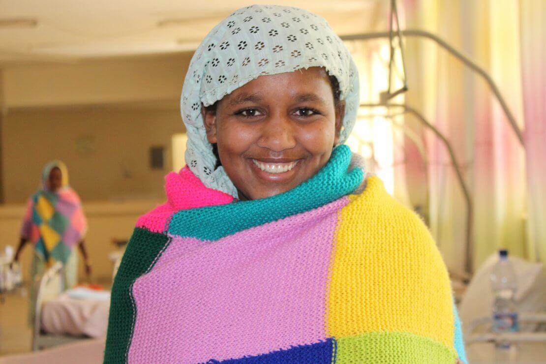 Sartu on the ward at Harar