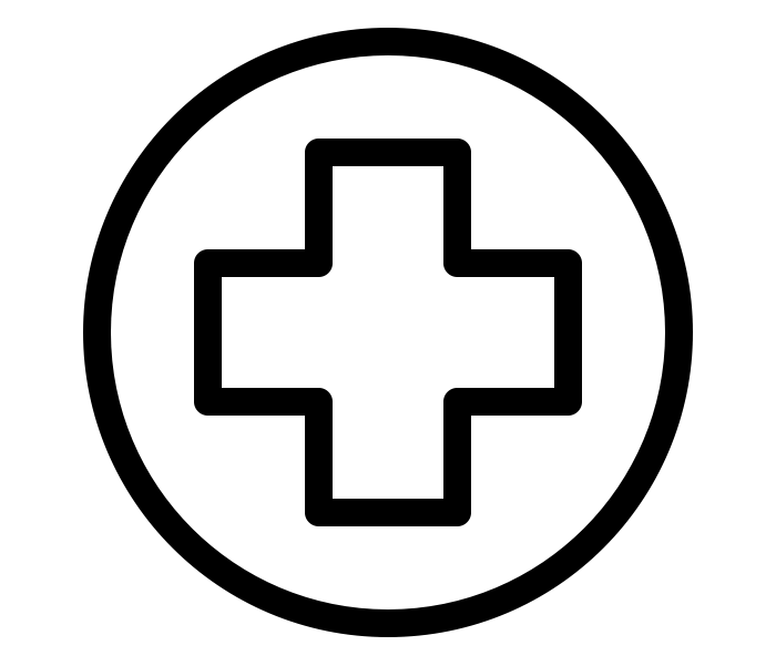 Graphic icon - medical cross